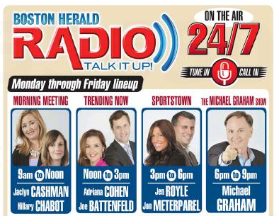 Image result for Boston Herald Radio Jen and Meter