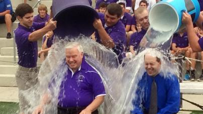 Ice Bucket Challenge-Diocese