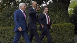 Barack Obama, Bill Belichick, Robert Kraft